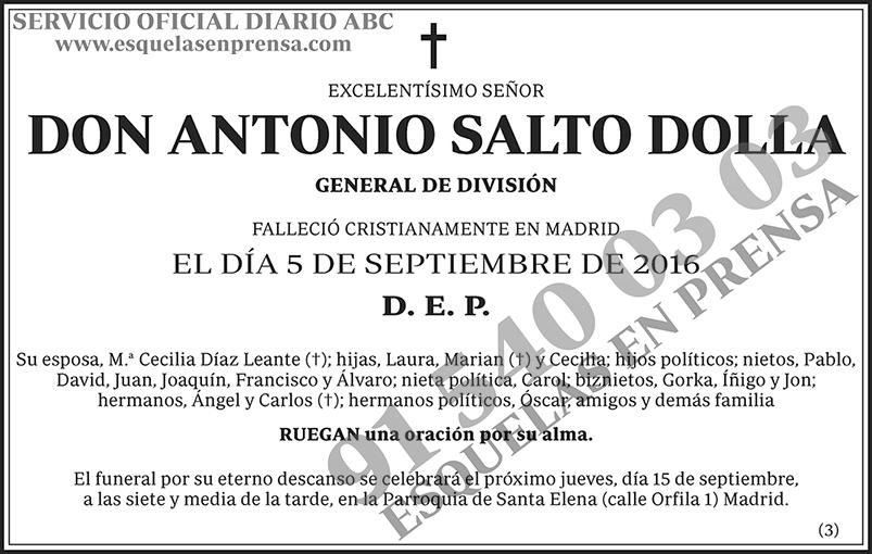 Antonio Salto Dolla